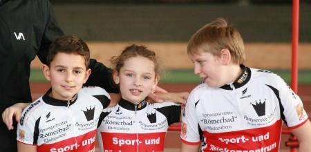 Nico, Messane und Lars beim Athletiktest