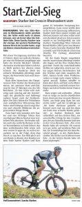 Bericht zum Querfeldeinrennen am 06.11.2016