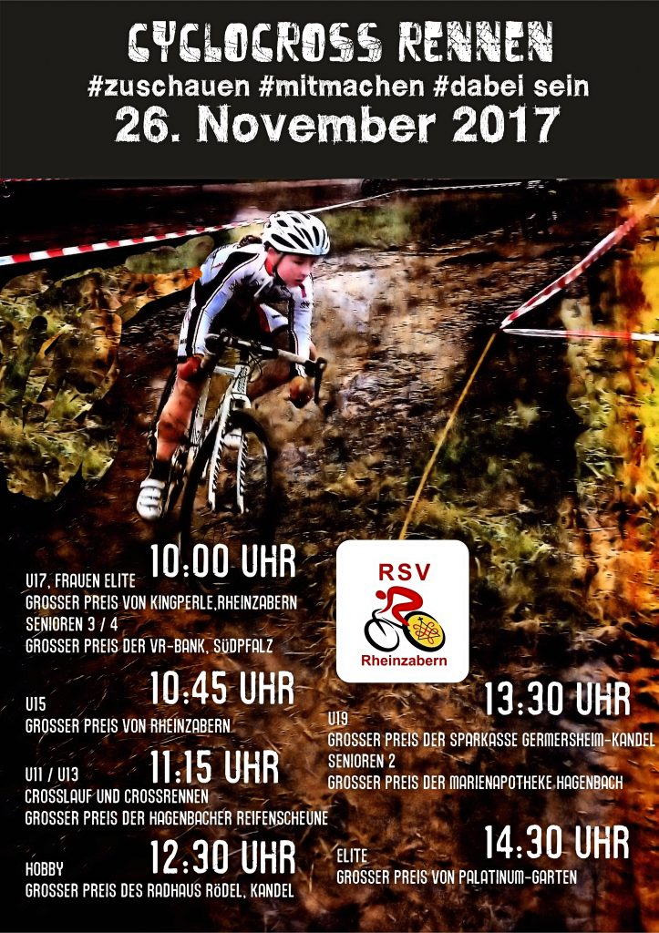 Plakat Crossrennen 2017