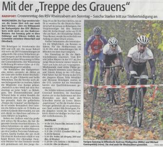 Rheinpfalz Vorbericht Cross