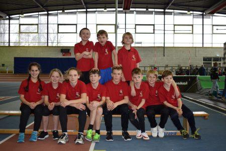 Mannschaft beim Athletiktest in Ludwigshafen